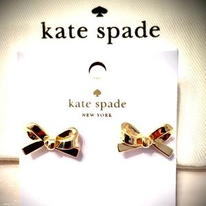 Kate Spade Gold Bow Studs